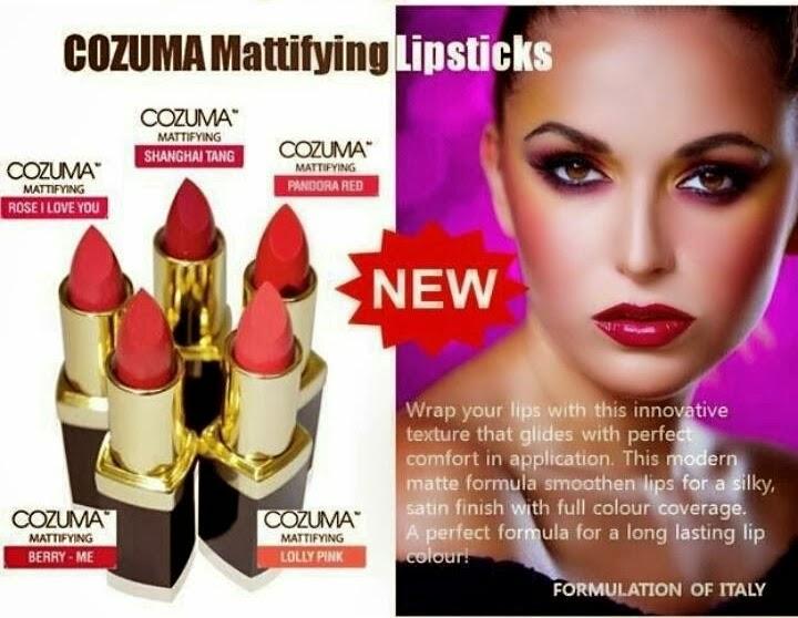 cozuma mattifying lipstick