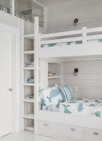 Dormitorio moderno litera niños