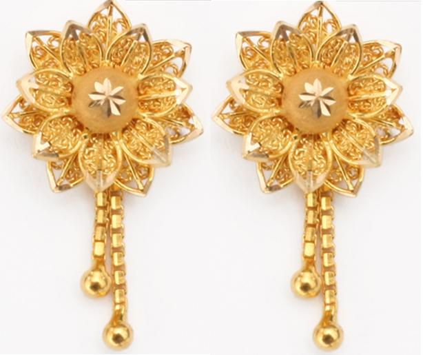 Gold Earrings New Designs