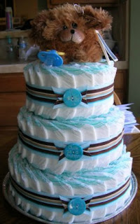 Dog Diaper Cake, Over The Apple Tree