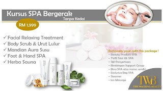 Kursus mobile spa, kursus spa, mobile spa, twb
