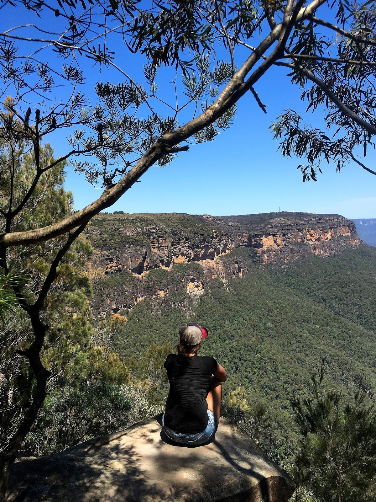 The National Pass track in the World Heritage listed Blue Mountains has been one of the most beautiful hiking trails I have seen. With the highest outdoor staircase and breathtaking views it's not to be missed!