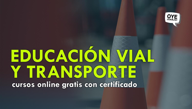 Educacion Vial Y Transporte 10 Cursos Online Gratis