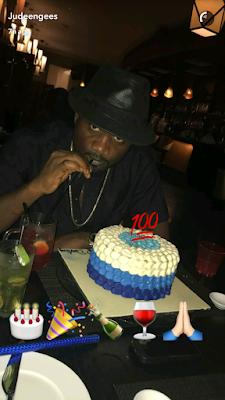 Photos from Jude Okoye's birthday dinner