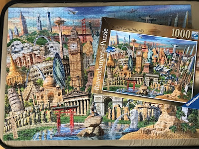 Ravensburger World Landmarks jigsaw puzzle review