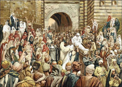 Jesus raising the son of the widow at Nain