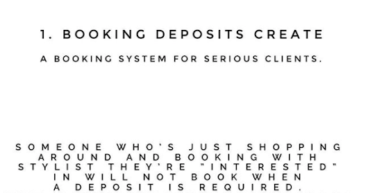THE BENEFITS OF BOOKING DEPOSITS