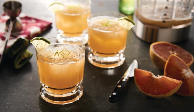 Margarita picante con tequila añejo