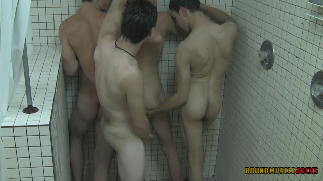 Sexy coed shower video