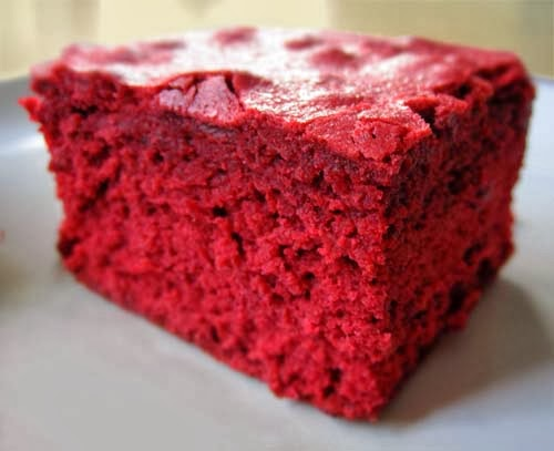 Simple Red Velvet Brownies Recipe