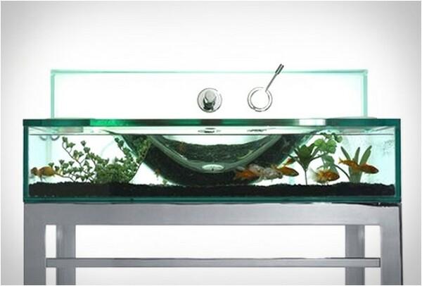 Moody Aquarium Sink