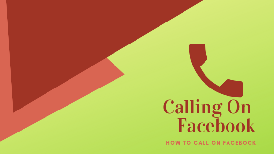 How To Call Someone On Facebook<br/>