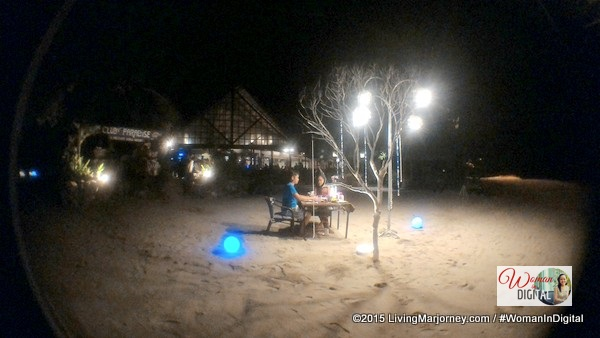 Moonlight Dinner at Club Paradise Palawan