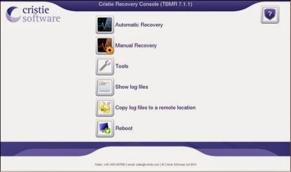 TBMR on linux recovery