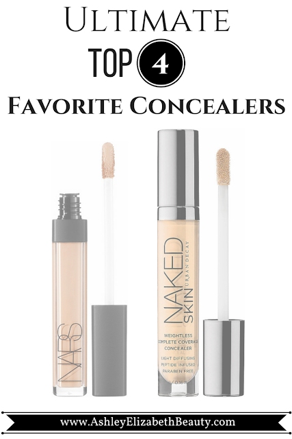 My Ultimate Top 4 Favorite Concealers