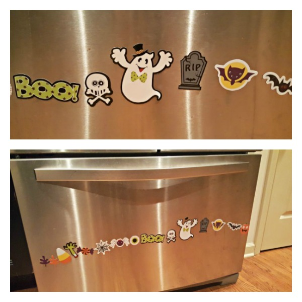 halloween magnets  for decor