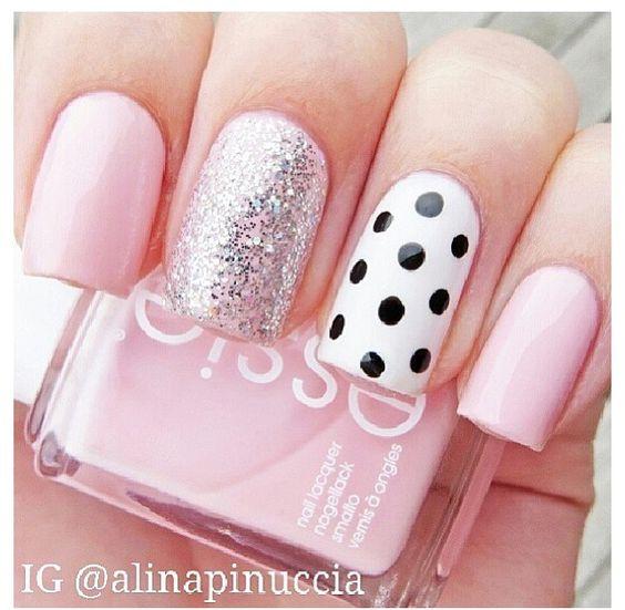 Miles De Diseños De Uñas Uñas Rosa Pastel Totalmente In