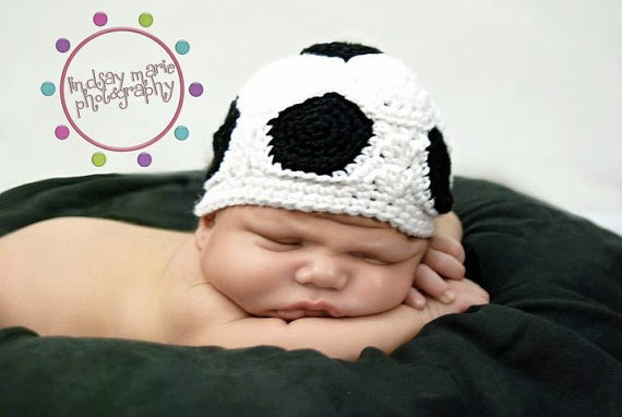 Soccer Ball Hat Pattern