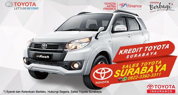Promo DP Ringan, Paket Kredit Toyota Rush Surabaya