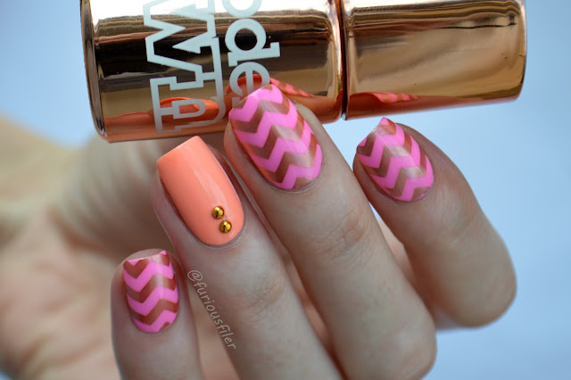 models own malibu pink beach bag chrome copper #nailpolishsocietyabc