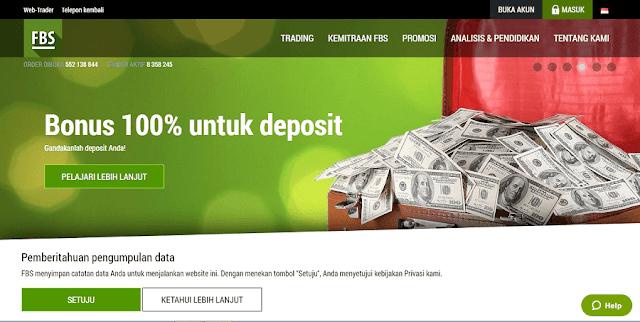 nikmati bonus dari setiap deposit di fbs