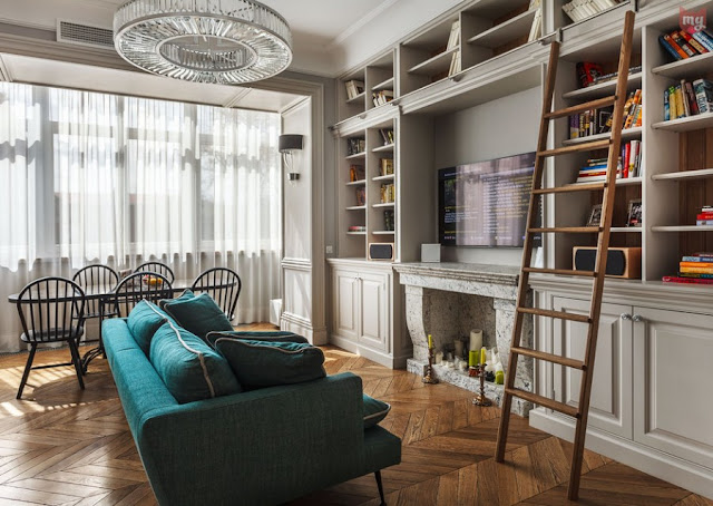 Французская неоклассика в московской квартире