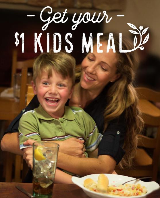 Arizona Families Olive Garden Coupon Kids Meal 1