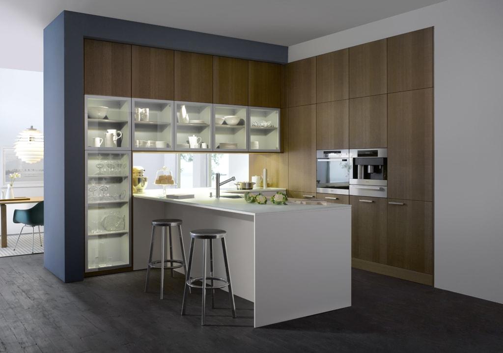 30 ideas de cocinas en blanco y madera i cocinas con - Delta cocinas ...
