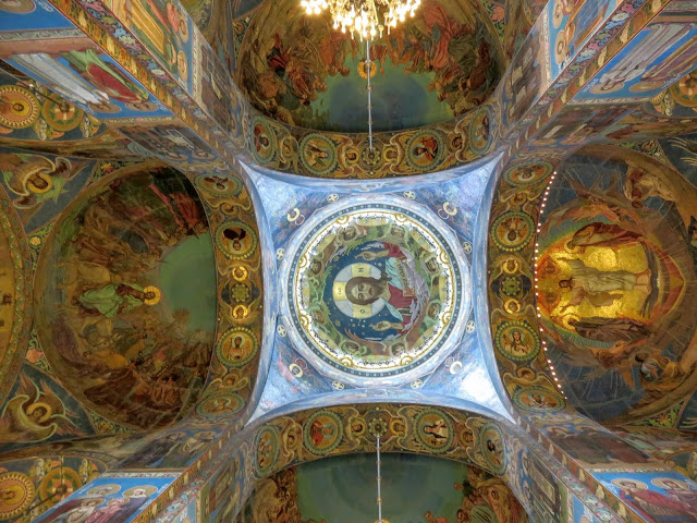 Highlights of 72 visa-free hours in St. Petersburg: Mosaics inside the Church of the Spilled Blood