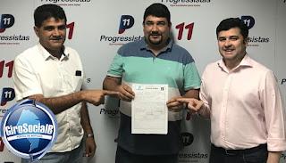 EXCLUSIVO: Jonas Camelo assume presidência do partido Progressistas em Buíque, município em que foi prefeito por dois mandatos.