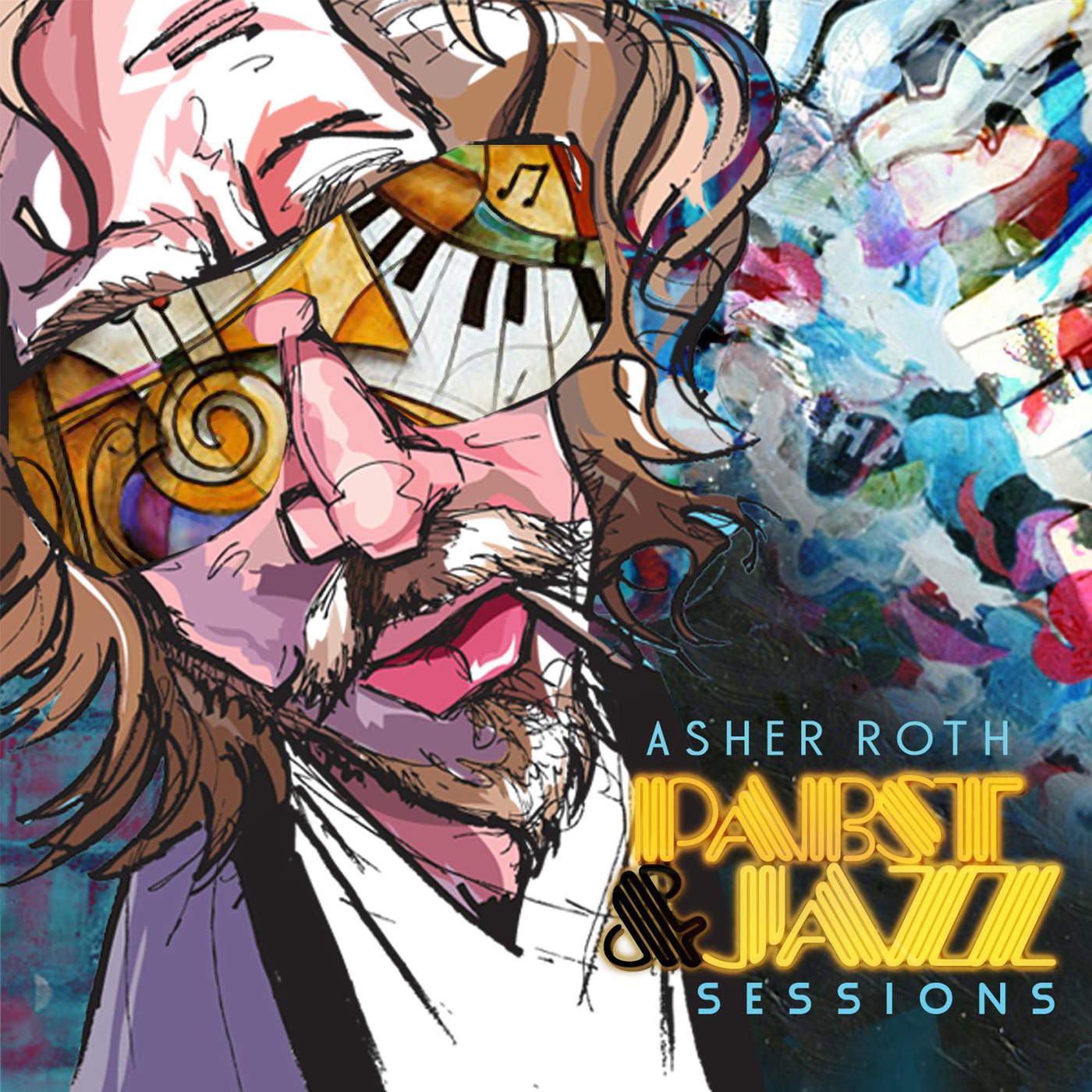 Asher Roth - Pabst & Jazz Cover