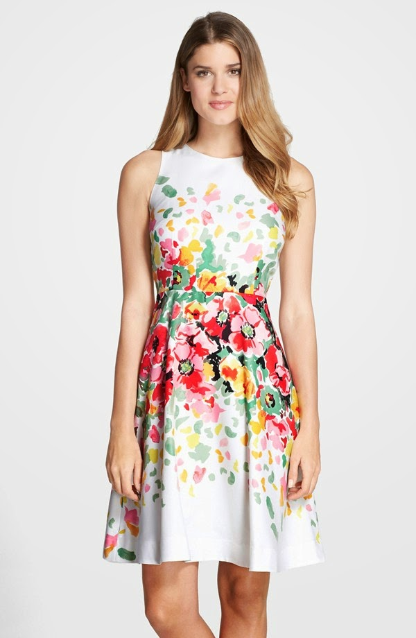 Floral Print Guest Wedding Dresses Beach  Wedding and Prom Trend