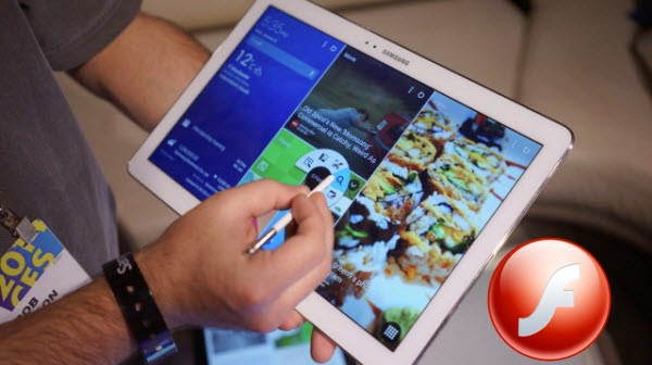 No sound on flash player for Galaxy Note Pro 12 2? Solved-Samsung