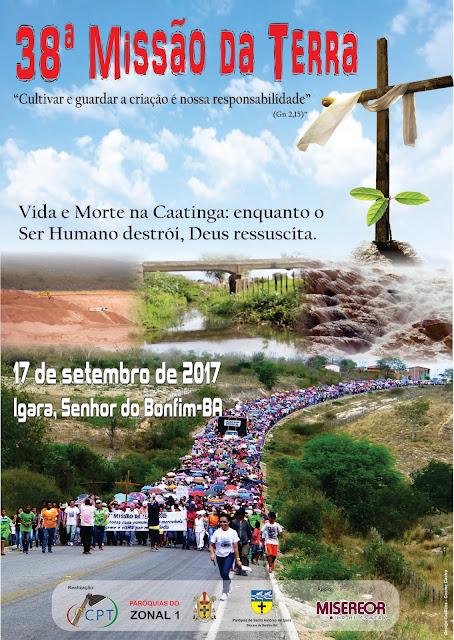 Diocese de Bonfim realiza a 38ª Missão da Terra no distrito de Igara