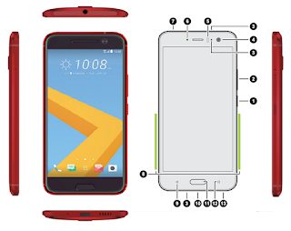 HTC U11 Front View