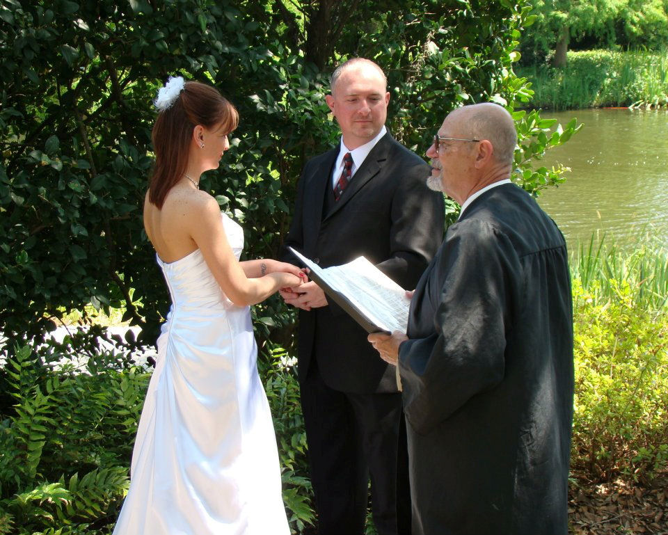The ceremony at the good life park