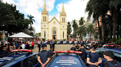 Guarda Municipal de Jundiaí tem policiamento reforçado com 38 novas viaturas