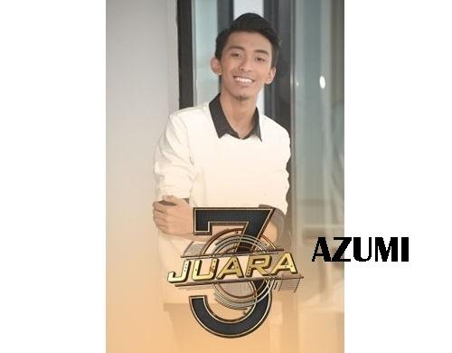 biodata Azumi peserta 3 Juara TV3, biodata 3 Juara TV3 Azumi, profile Azumi 3 Juara TV3 2016, profil dan latar belakang Azumi 3 Juara genre balada, gambar Azumi 3 Juara TV3