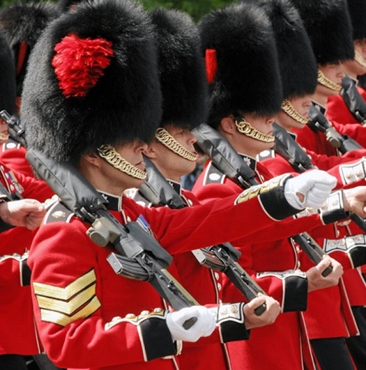 Can the Queen's Guard Really Not React to People While on ... |Buckingham Palace Guards Hats