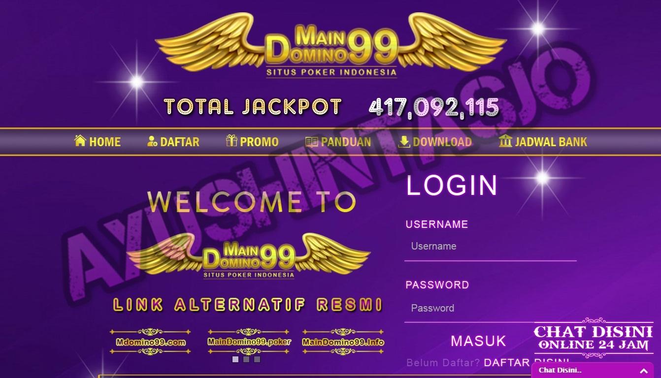 MainDomino99 Daftar Judi Online Terpecaya Indonesia