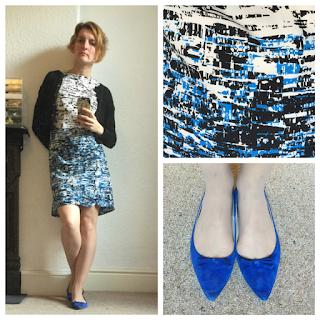 Warehouse dress and Zara shoes