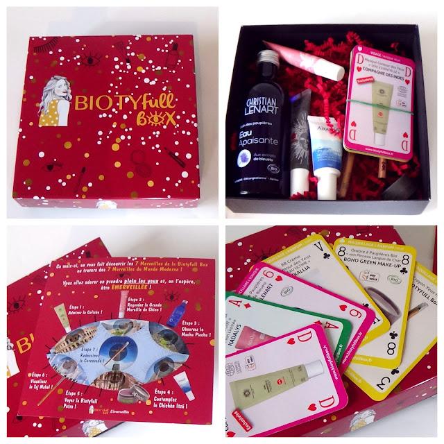 Biotyfull box de Novembre - L'émerveillée