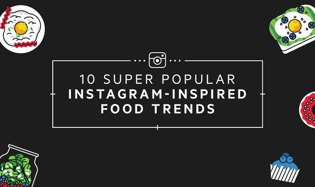 10 Super Popular Instagram-Inspired Food Trends