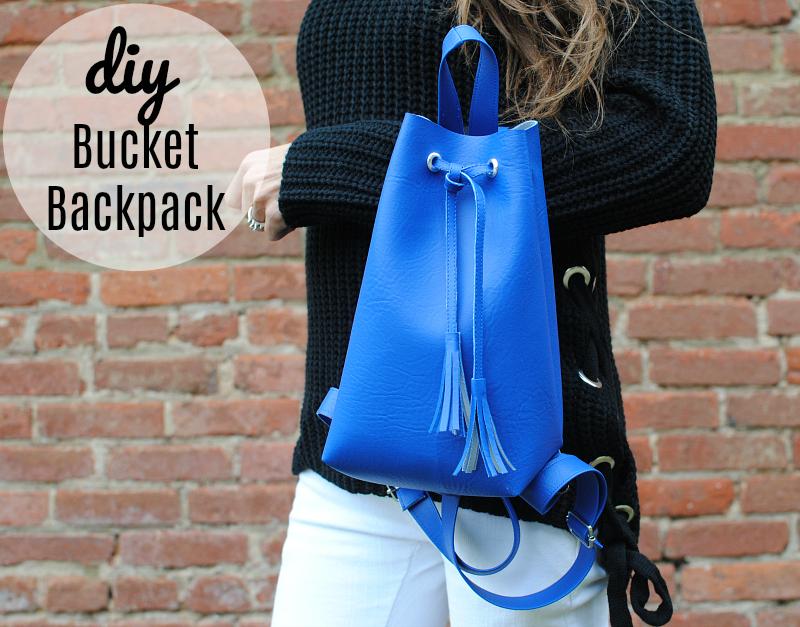 DIY Bucket Backpack