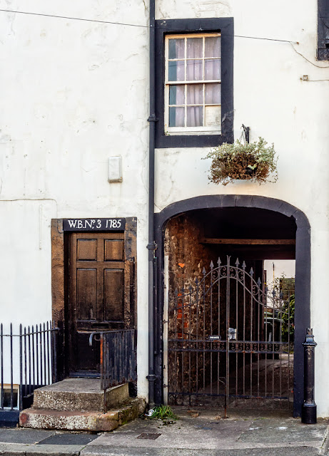 Photo of an interesting doorway in Maryport