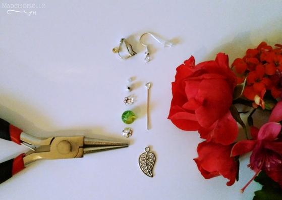 DIY Boucles d'oreilles automnales