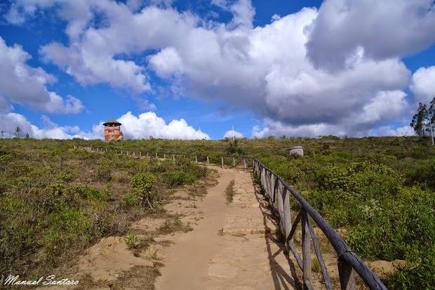 Huancas, mirador