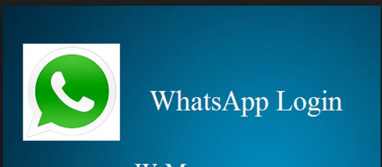 How to Sign in Whatsapp