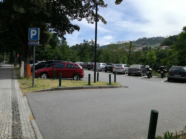 parque de estacionamento