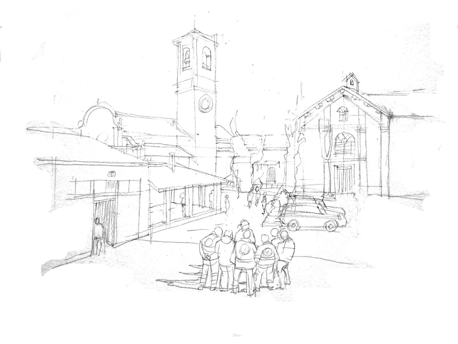 Provincia di Savona - Giusvalla _ piazza principale